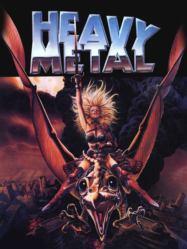 RedBubble: Heavy Metal Movie