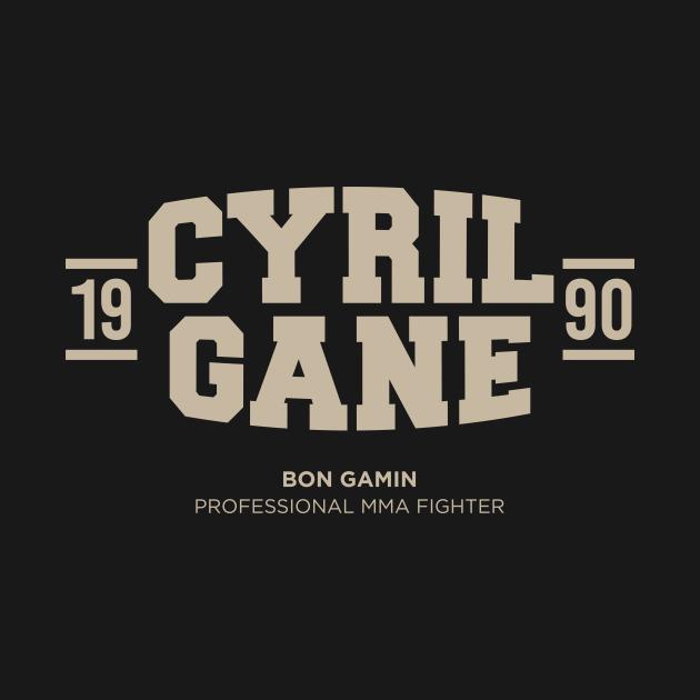 TeePublic: Cyril Gane