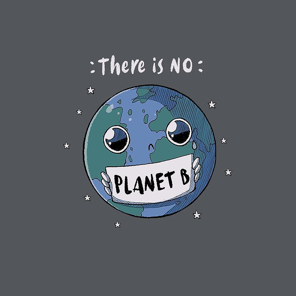 TeeFury: No Planet B