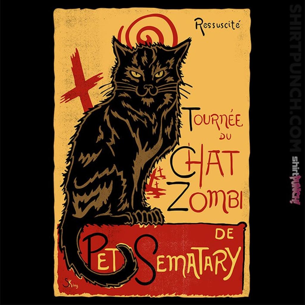 ShirtPunch: Chat Zombi