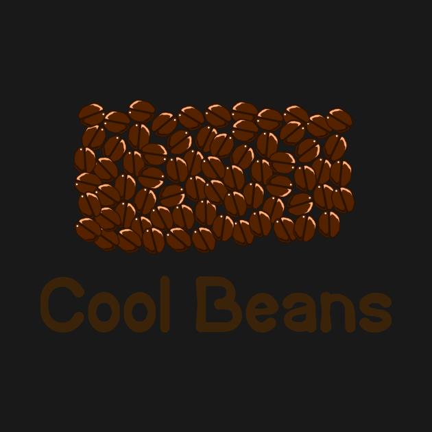 TeePublic: Coffee Cool Beans Coffee Lover Gift