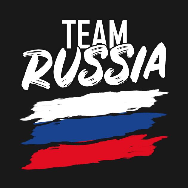 TeePublic: Team Russia Soccer Sport Tee