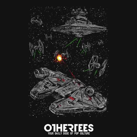 OtherTees: Escape the Imperial Navy