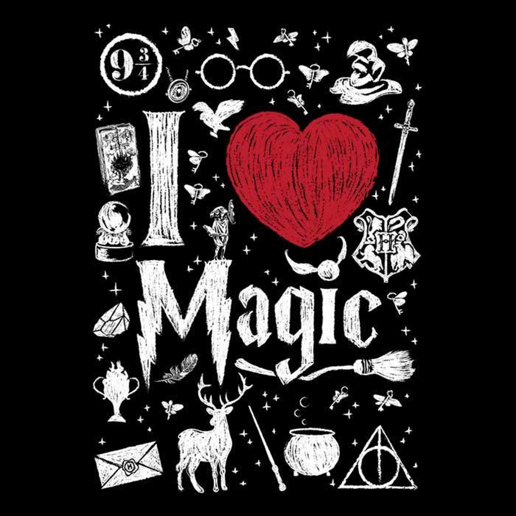 Once Upon a Tee: I Love Magic