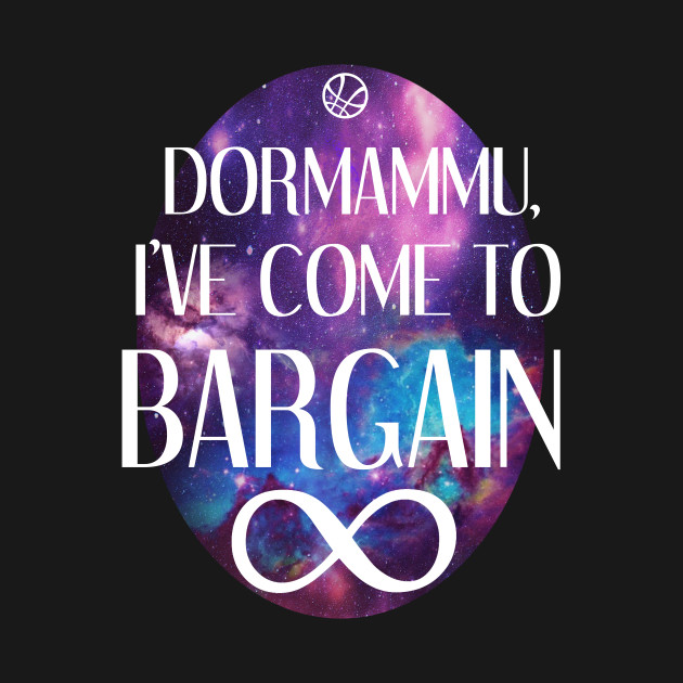 TeePublic: Dormammu, I've Come to Bargain ∞ T-Shirt