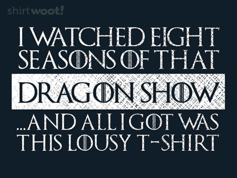 Woot!: Eight Seasons?