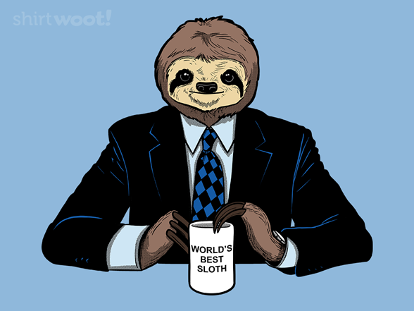 Woot!: World's Best Sloth