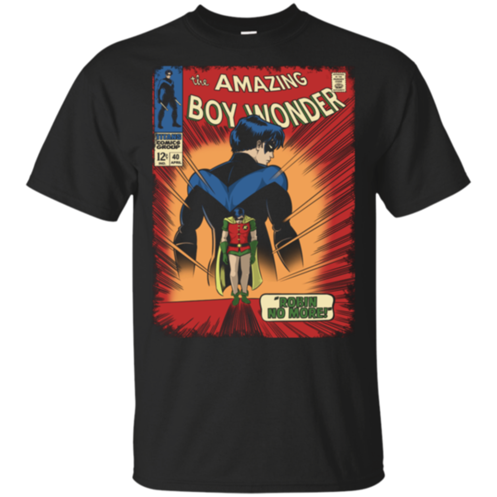 Pop-Up Tee: Boy Wonder