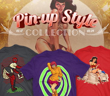 TeeFury: Pin-up Style Collection