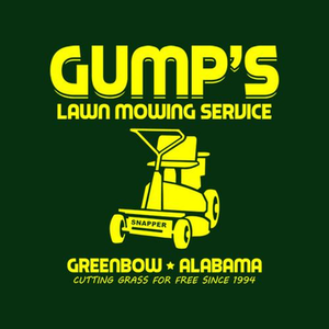 Five Finger Tees: Gump's Lawn Mowing Service T-Shirt