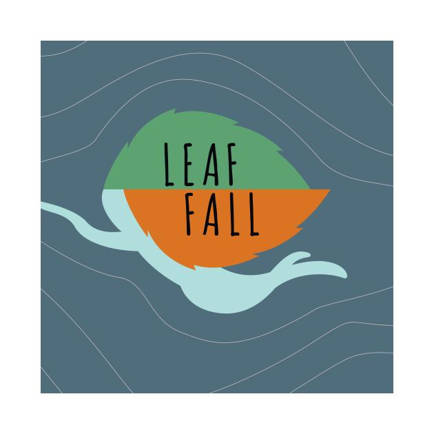 TeePublic: LEAF FALL