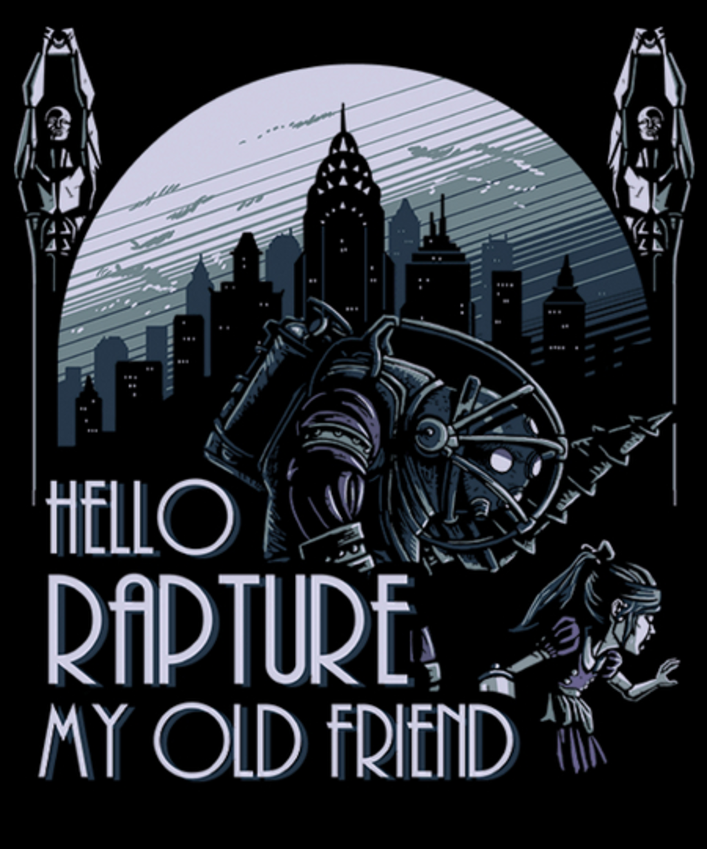 Qwertee: Hello Rapture