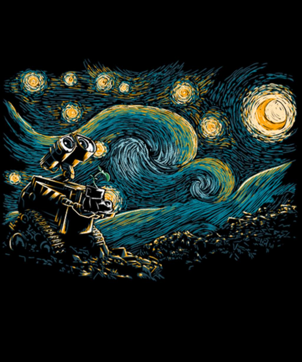 Qwertee: Starry Robot