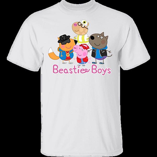Pop-Up Tee: Peppas Beastie Boys