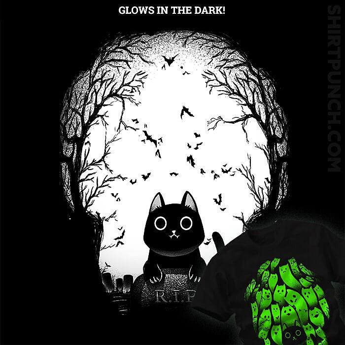 ShirtPunch: Black Cat
