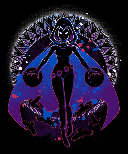 Qwertee: Raven Shadow
