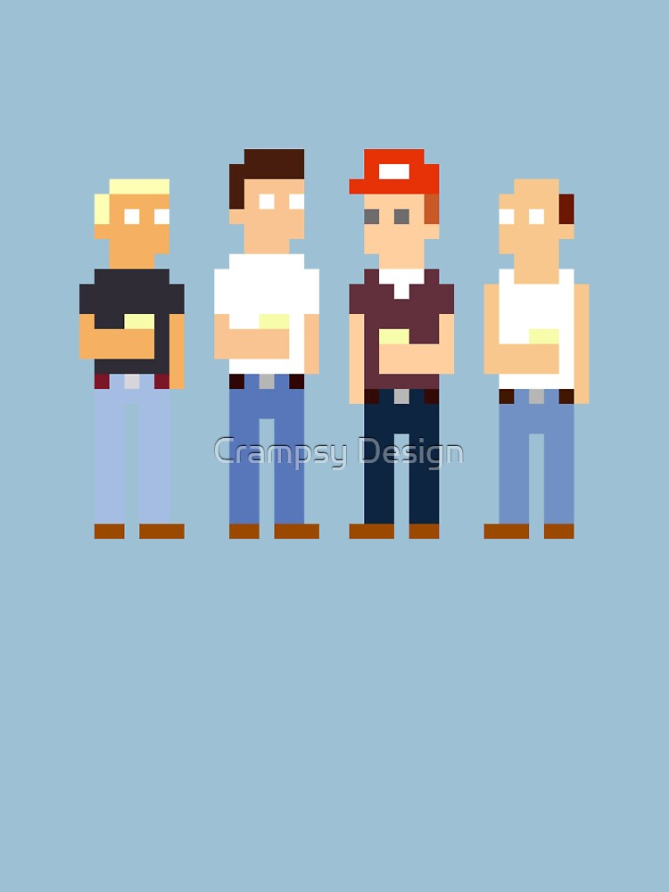 RedBubble: King of the Hill Pixel Art