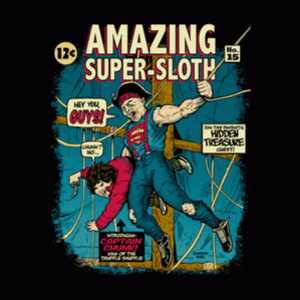 BustedTees: Super-Sloth