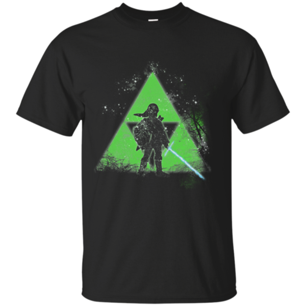Pop-Up Tee: Be the Triforce Be with you