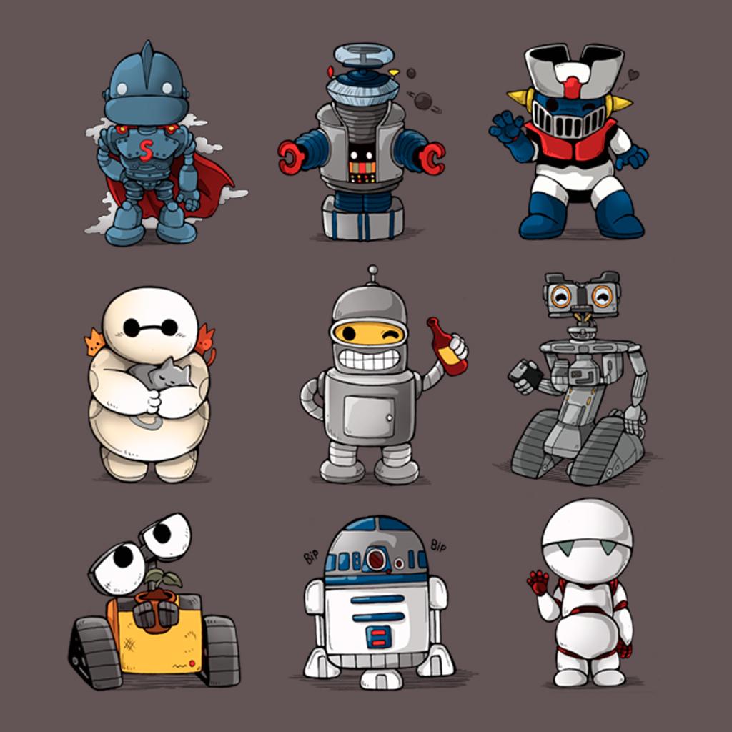 Pampling: Robot Kawaii
