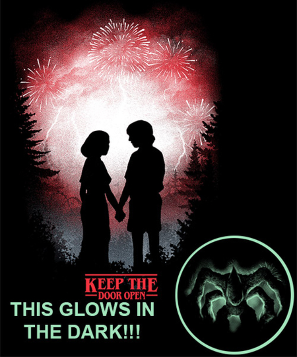 Qwertee: Keep the door open