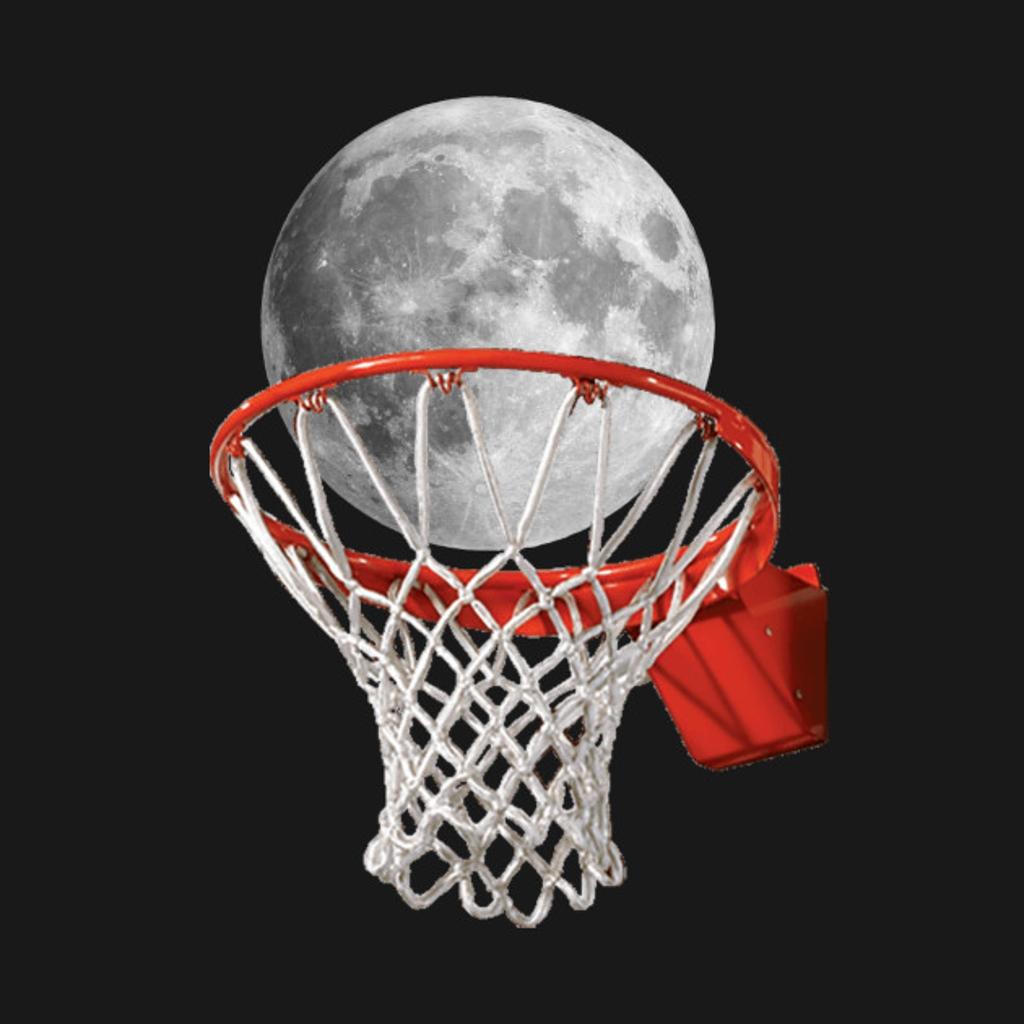TeePublic: Hoop Moon