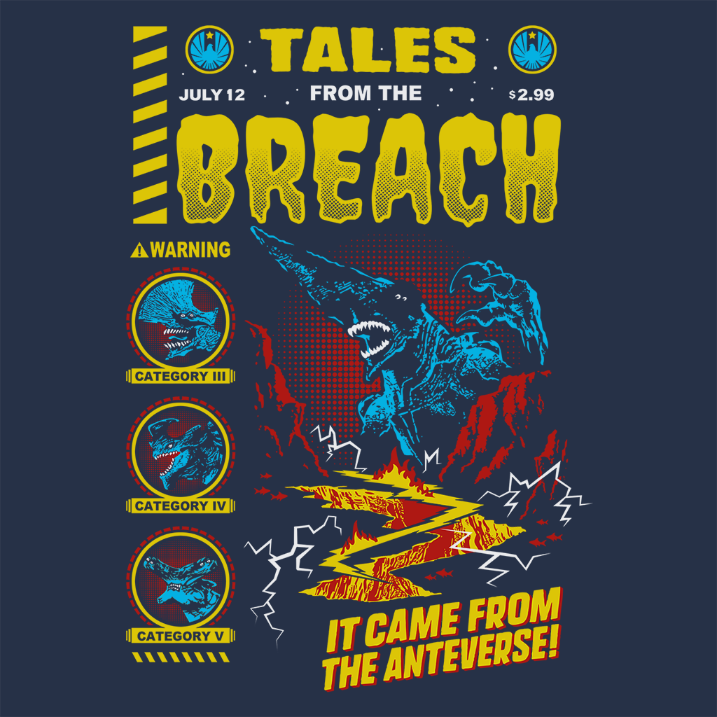 Pop-Up Tee: 3.1 Breach