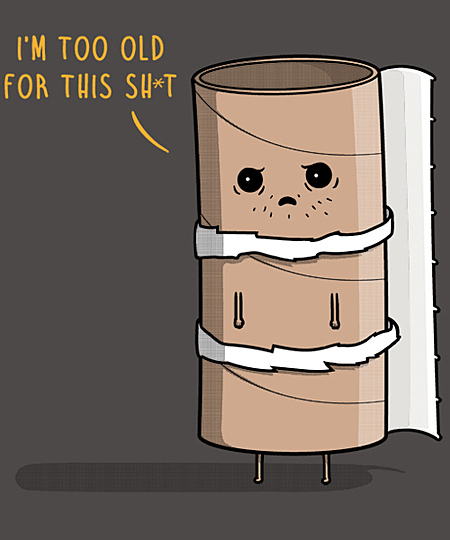 Qwertee: Paper Rold!
