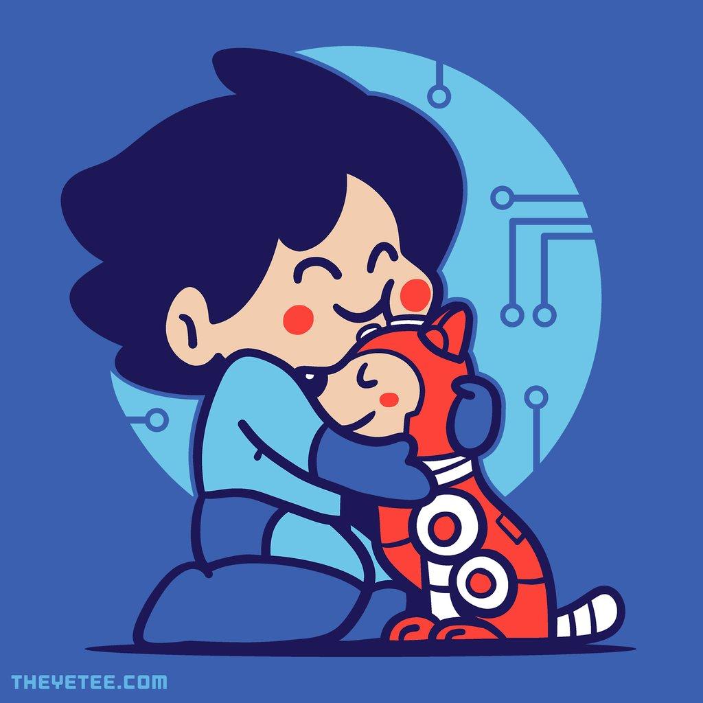 The Yetee: Robo Hug