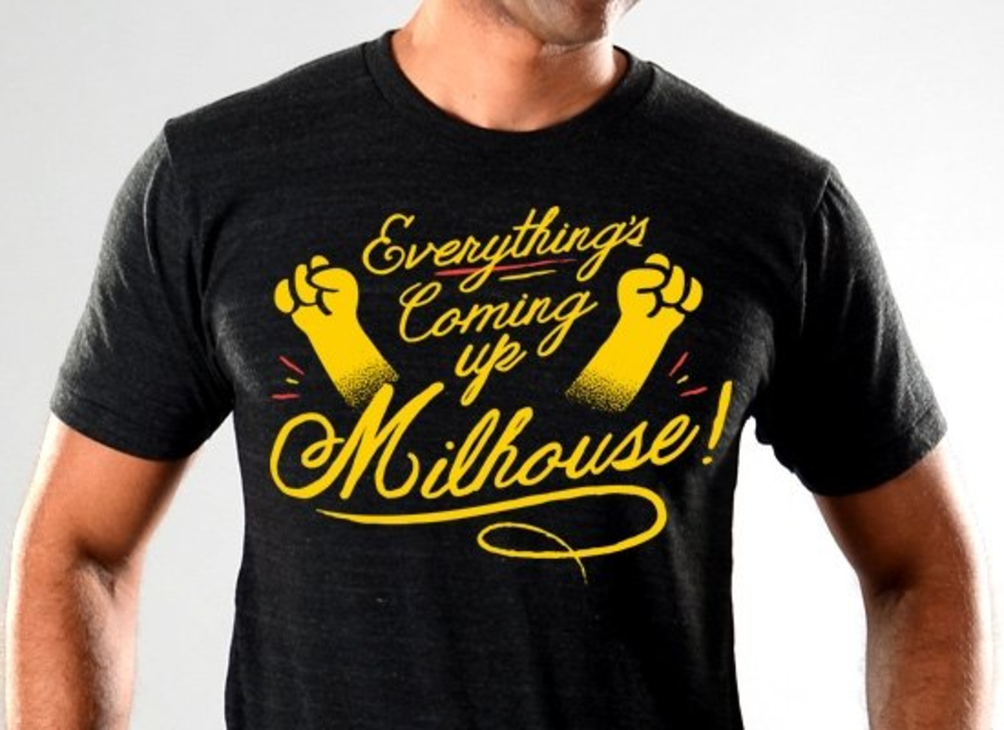 SnorgTees: Everything's Coming Up Milhouse! Limited Edition Tri-Blend