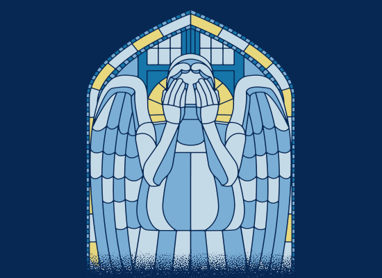 SnorgTees: Weeping Angel