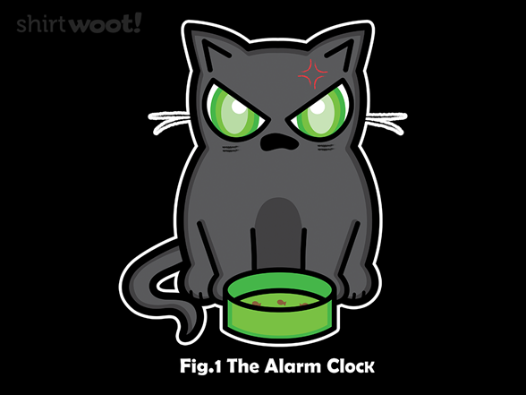 Woot!: iHungry Alarm Clock