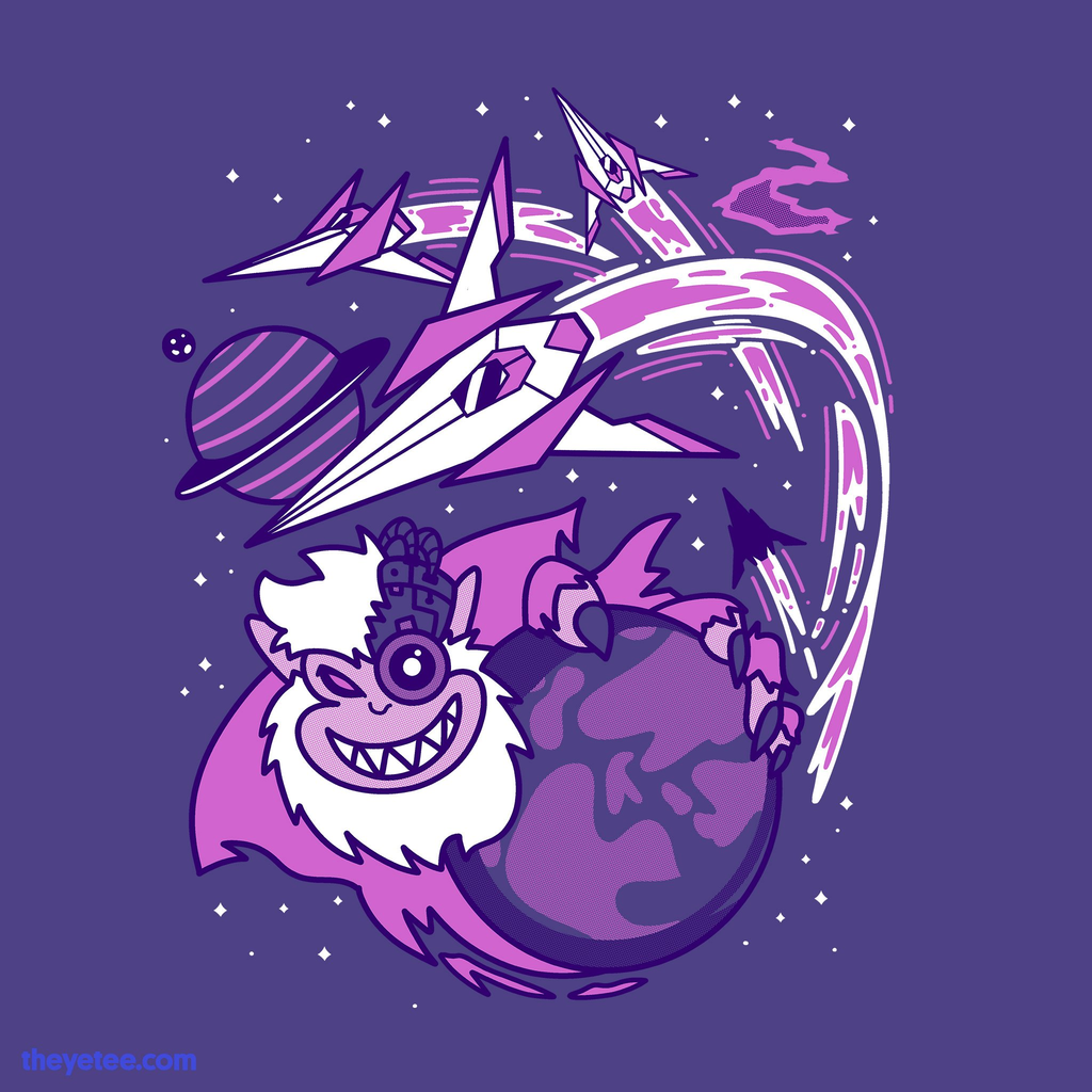 The Yetee: Space Squadron