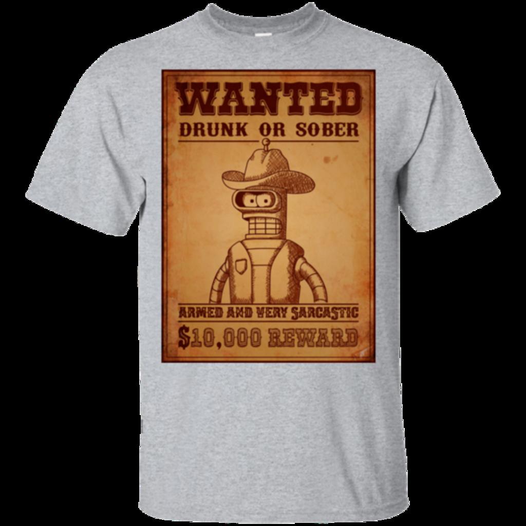Pop-Up Tee: Bender Wanted