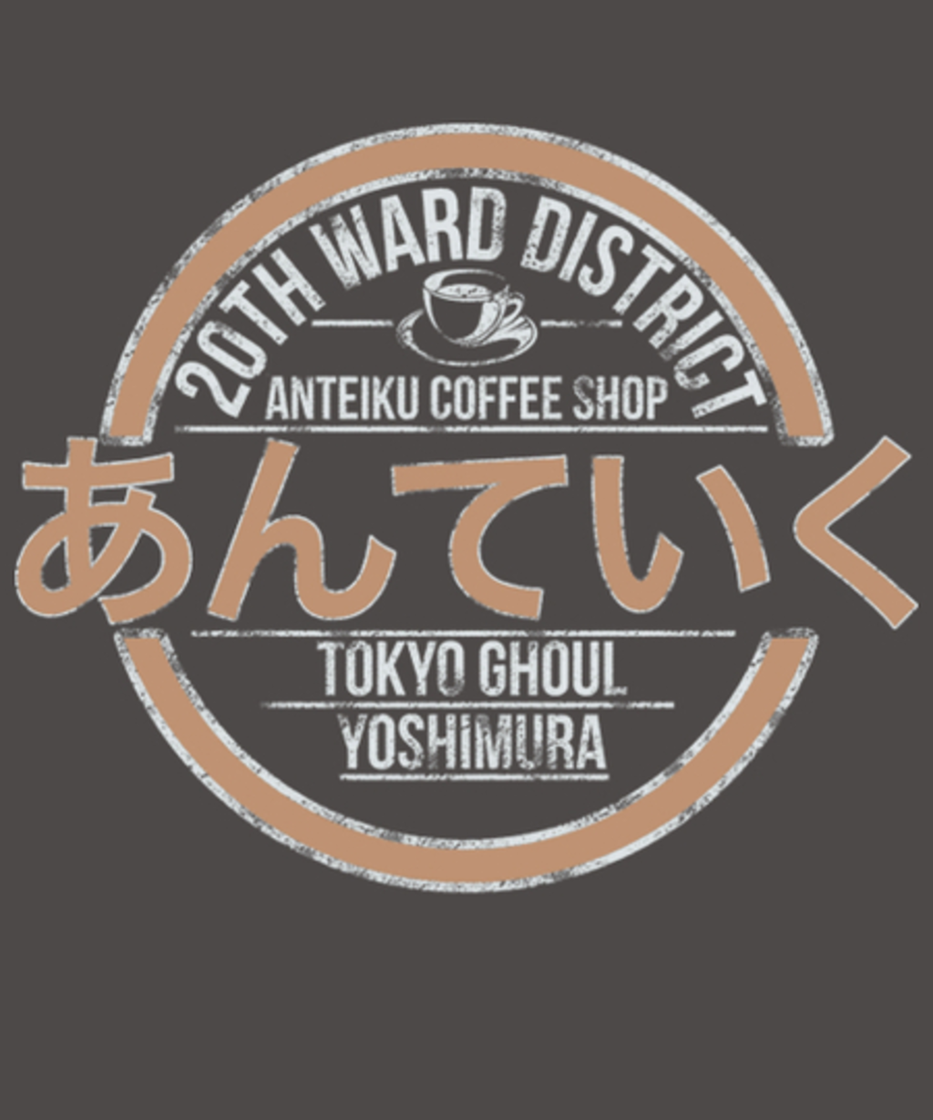 Qwertee: Anteiku Coffee Shop