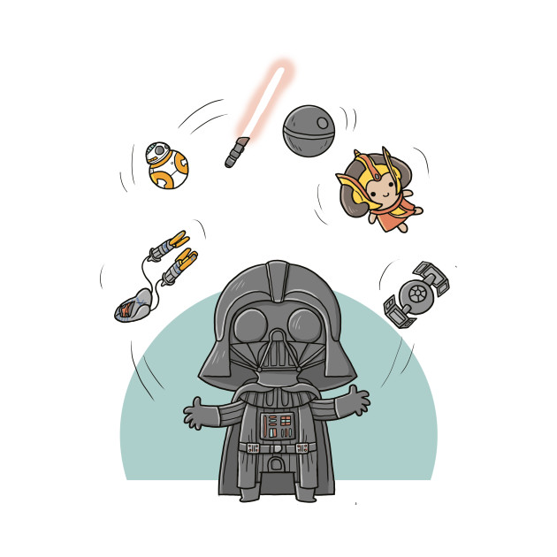 TeePublic: Things Darth Vader Loves