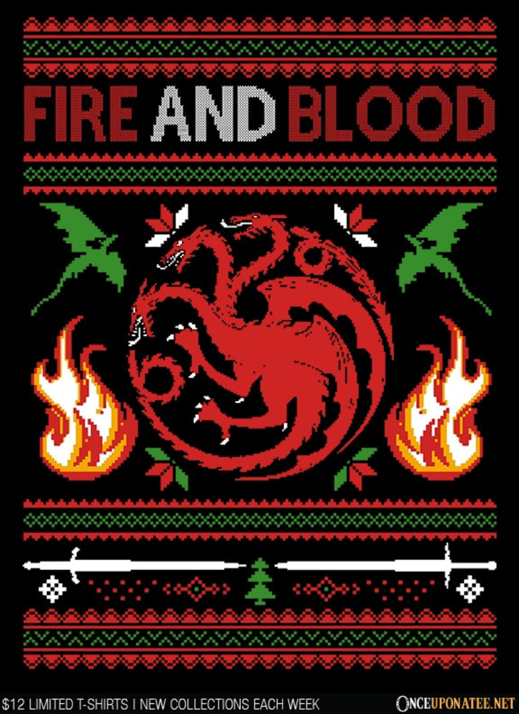 Once Upon a Tee: Sweater of Dragons