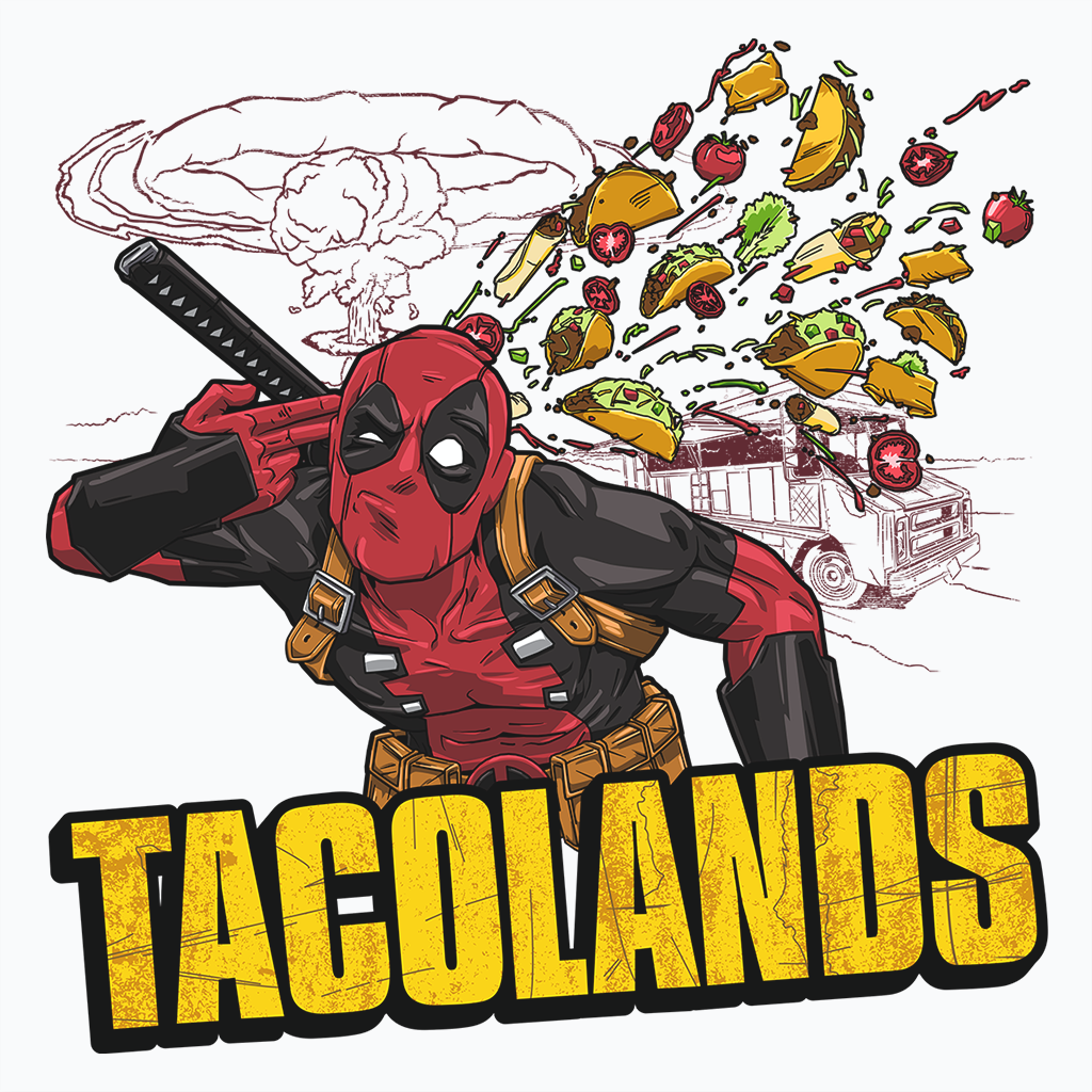 Pop-Up Tee: Tacolands
