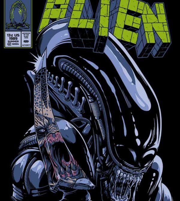 teeVillain: Incred Alien 2