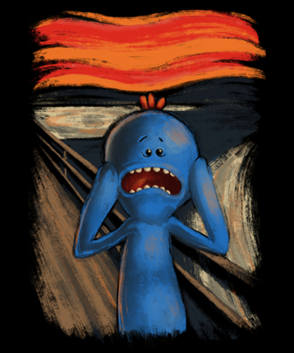 Qwertee: Scream of pain