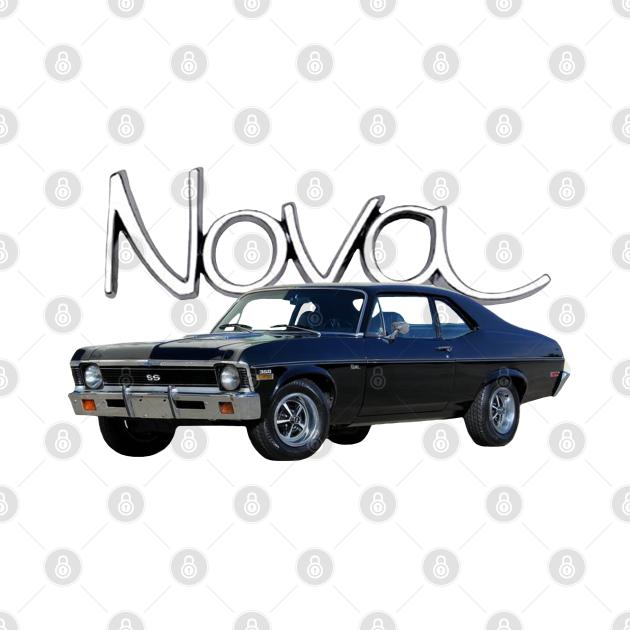 TeePublic: 1972 Chevy Nova