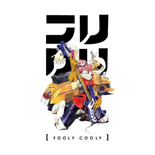 TeePublic: FLCL - Fooly Cooly Haruko