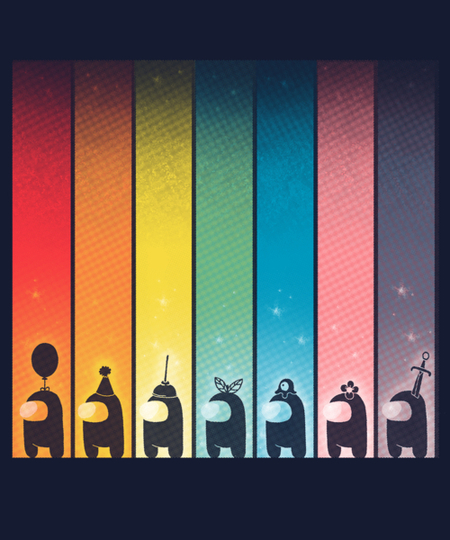 Qwertee: Rainbow Game