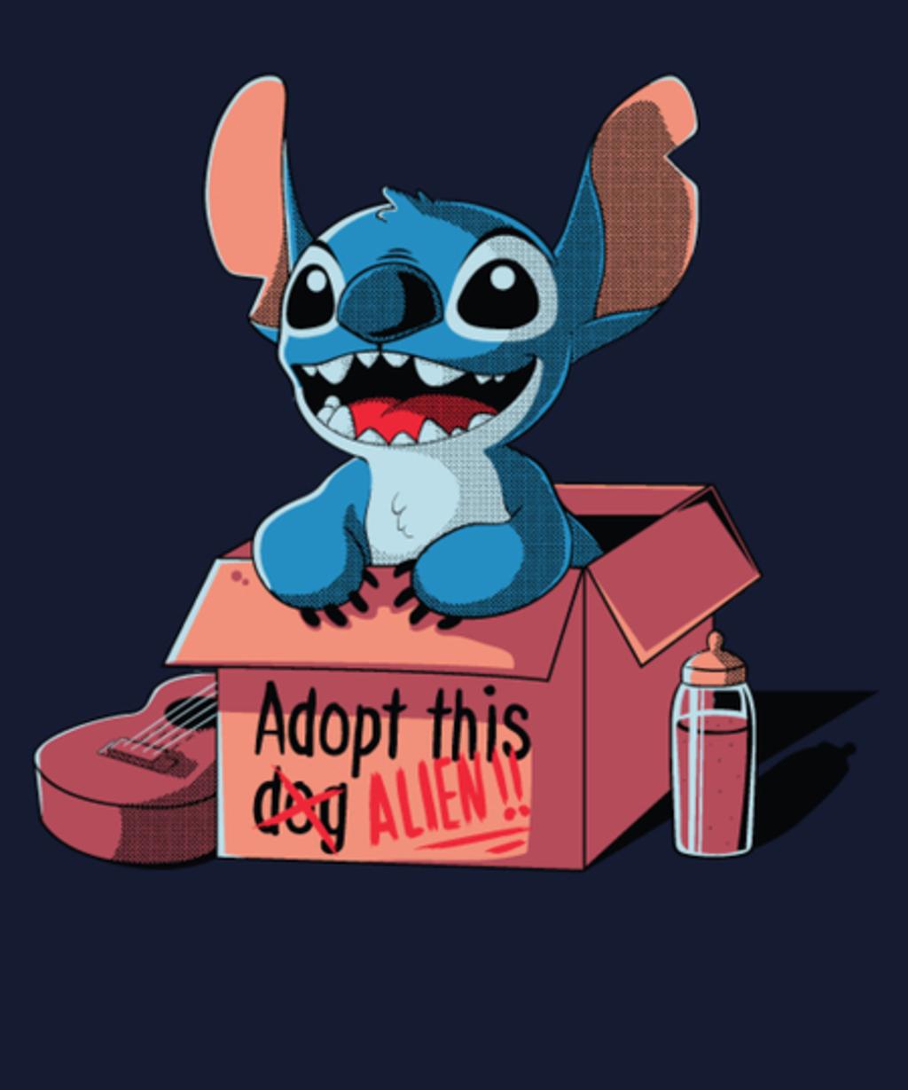Qwertee: Adopt this dog