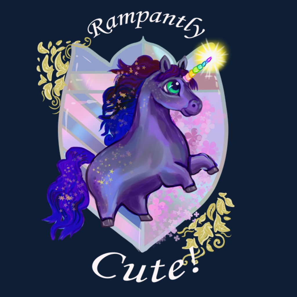 NeatoShop: Rampantly Cute Unicorn Dark