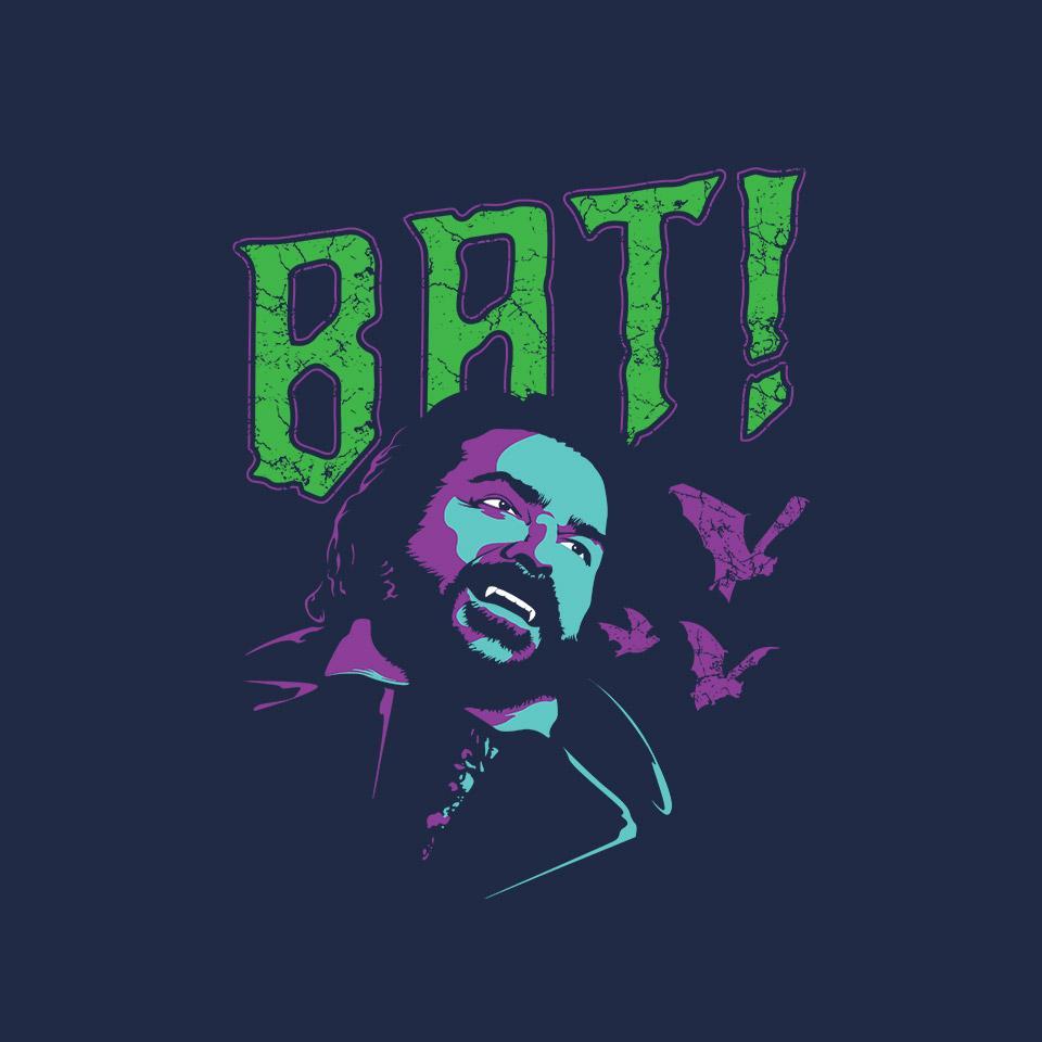 TeeFury: Laszlo Bat