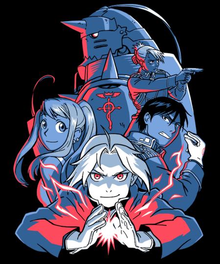Qwertee: Alchemist Team!