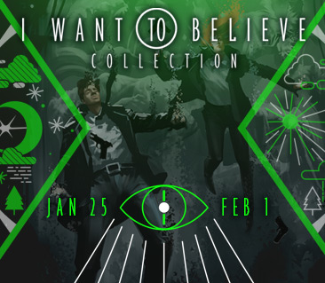TeeFury: Want To Believe Collection