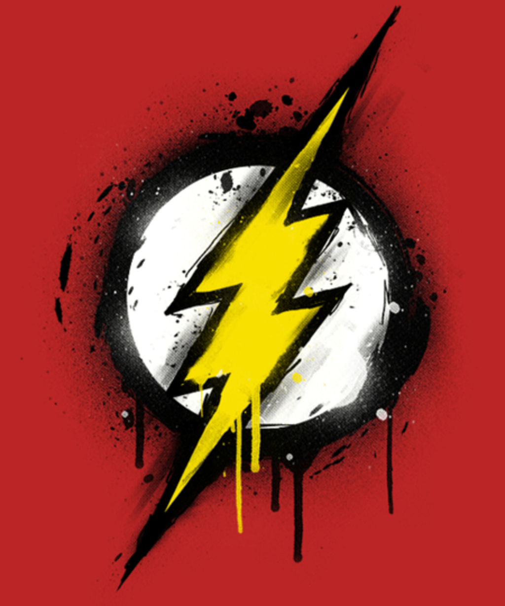 Qwertee: Flash graff