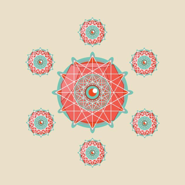 TeePublic: 7 Eyes of Dodecahedron
